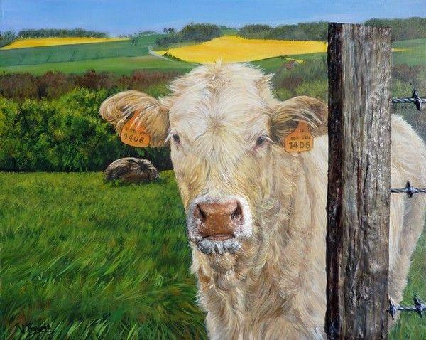 A la campagnedessins peintures page 2 - Peinture facile a reproduire ...