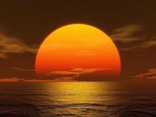 Coucher de soleil - Duree du retour de couche sans allaitement ...