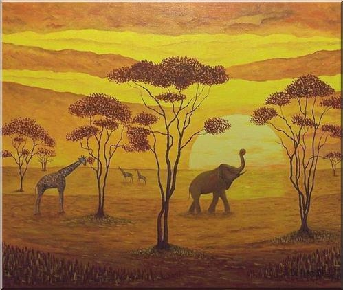 Afrique dessins peintures page 4 - Dessin africaine ...