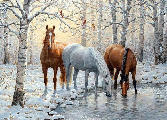 peinture chevaux wallpaper - photo #10