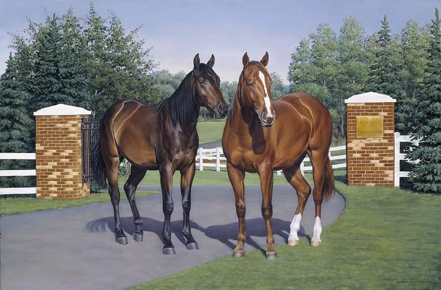 Chevaux peintures dessins - Dessin de chevaux sauvage ...