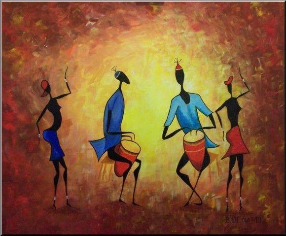 Afrique dessins peintures - Dessin d afrique ...