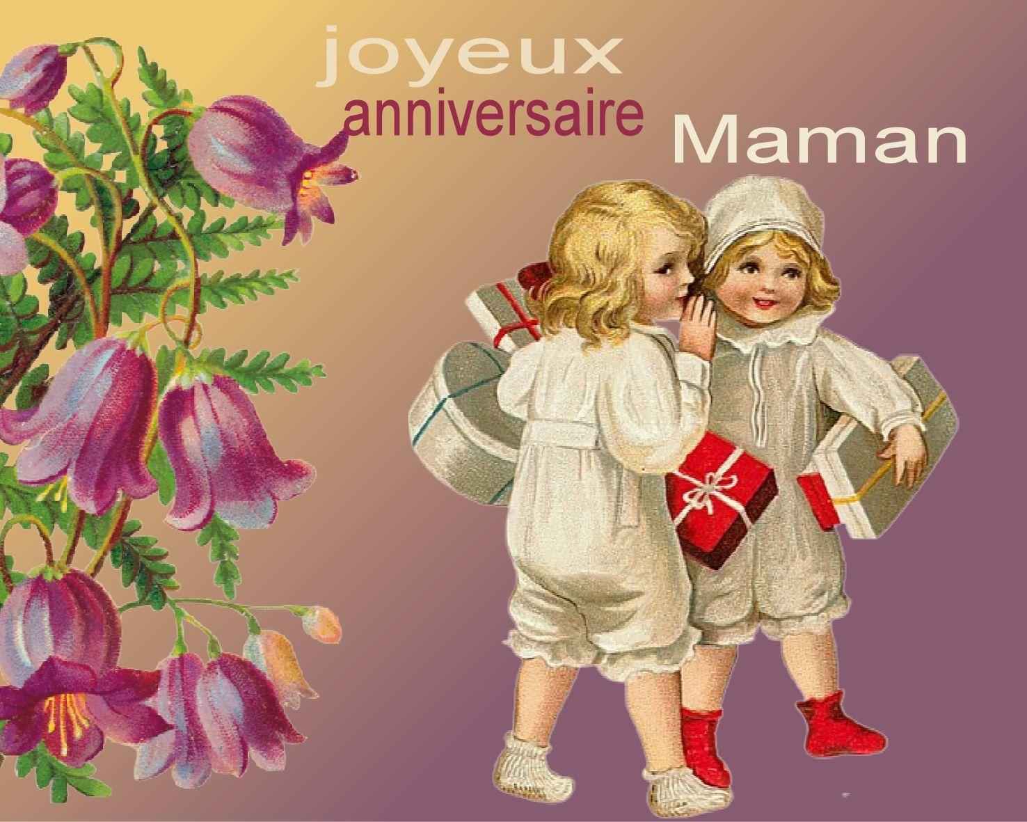 Pour toi maman - Image anniversaire maman ...