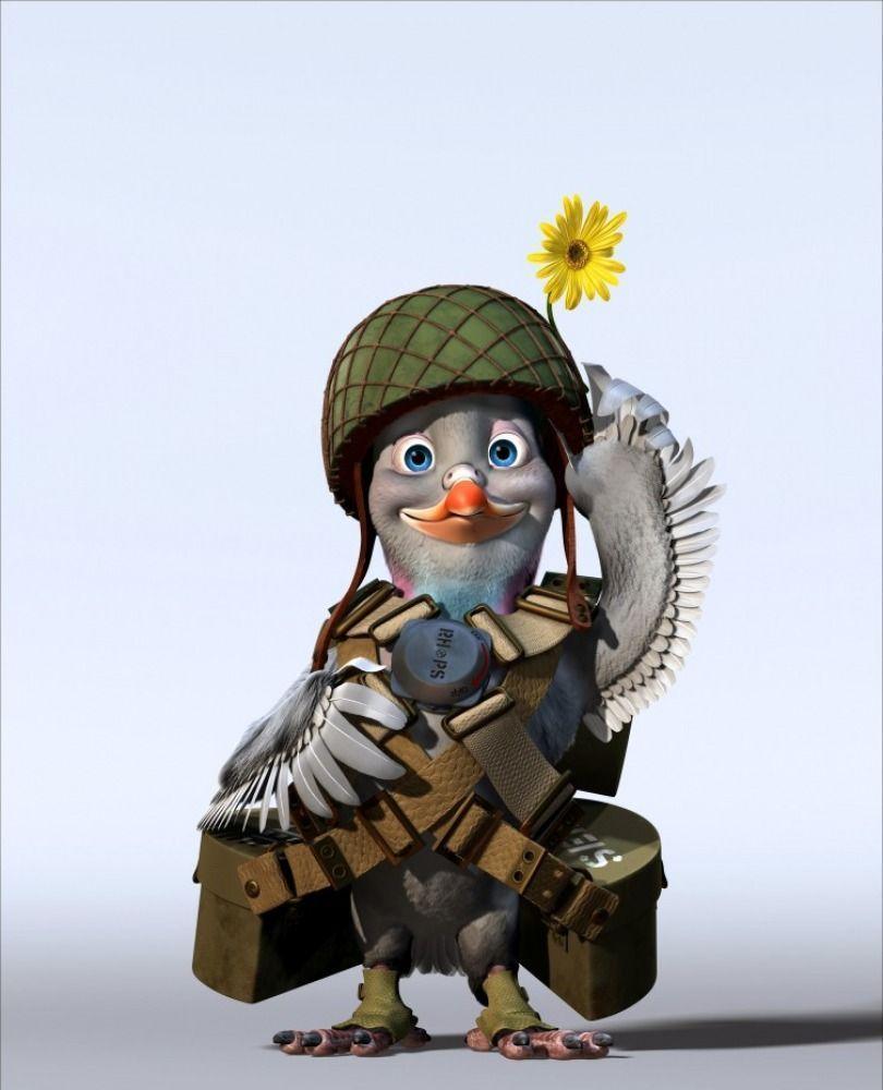 Walt disney vaillant pigeon de combat - Pigeon de combat ...
