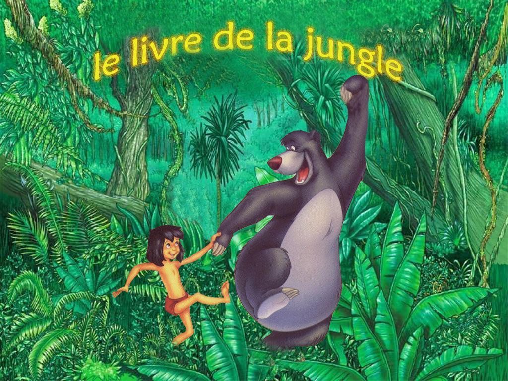 Walt disney le livre de la jungle page 2 - Dessin de jungle ...