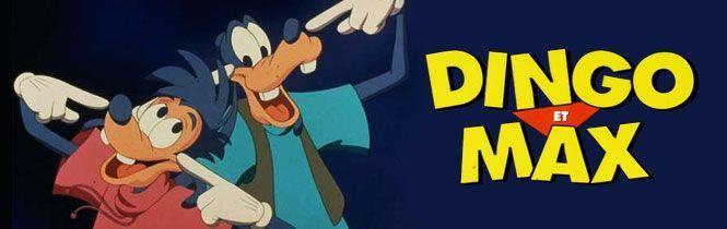 Walt Disney Dingo Et Max